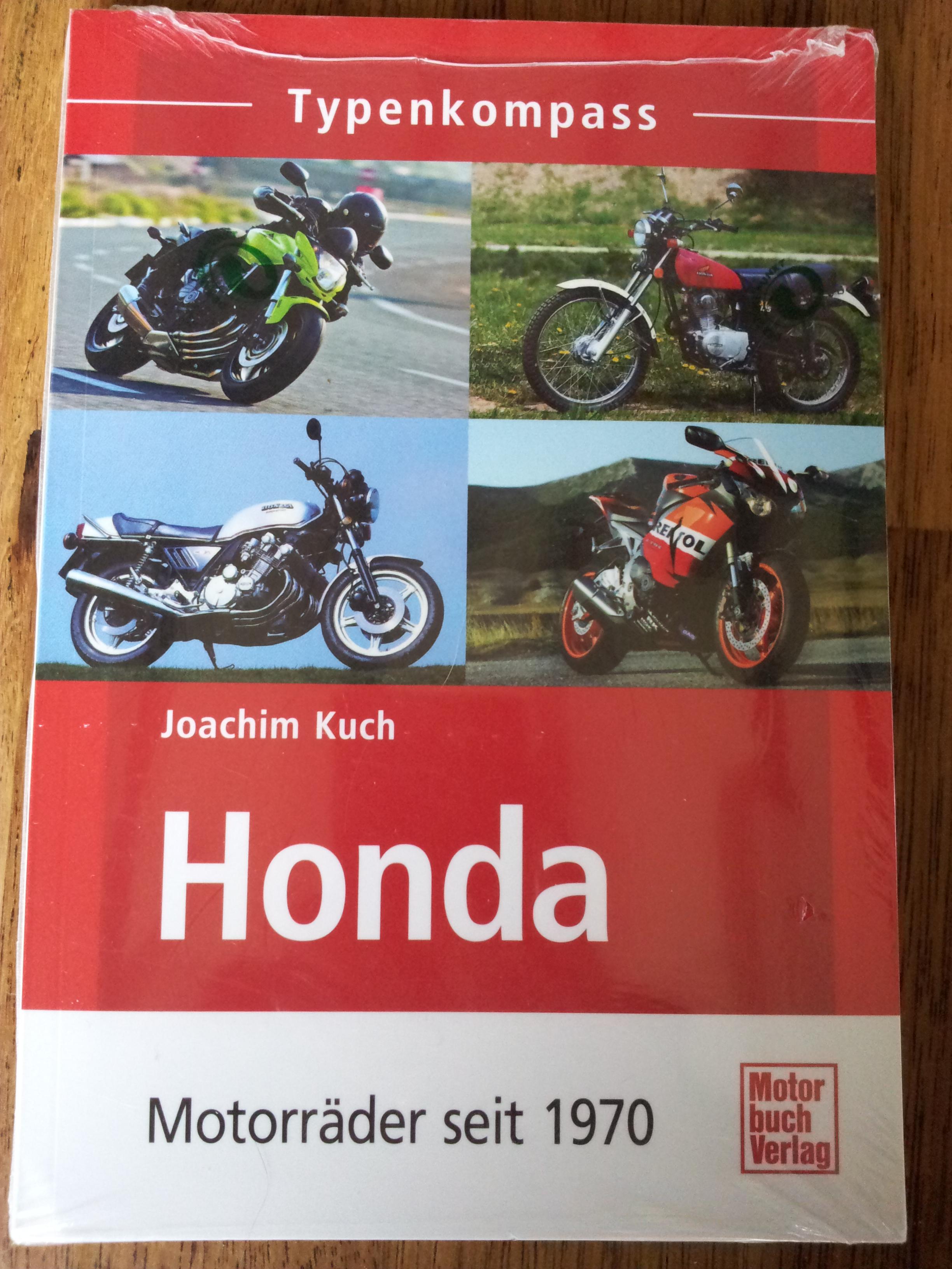 Honda Duits boek