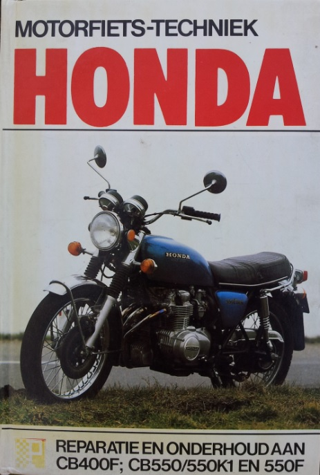 boek honda Peters cb400Fcb550