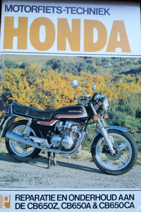 boek honda Peters cb650Z