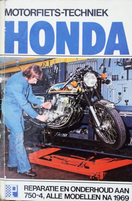 boek honda Peters cb750-4