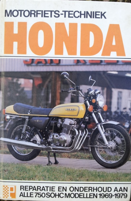 boek honda Peters cb750 sohc