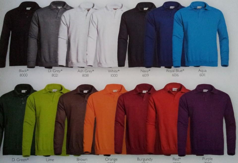 sweaters polo sluiting